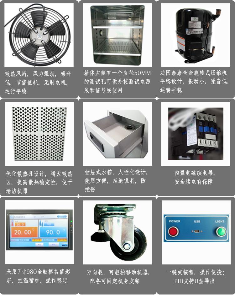供应双层恒温恒湿试验箱 非标恒温恒湿试验箱 LED恒温恒湿试验箱示例图6