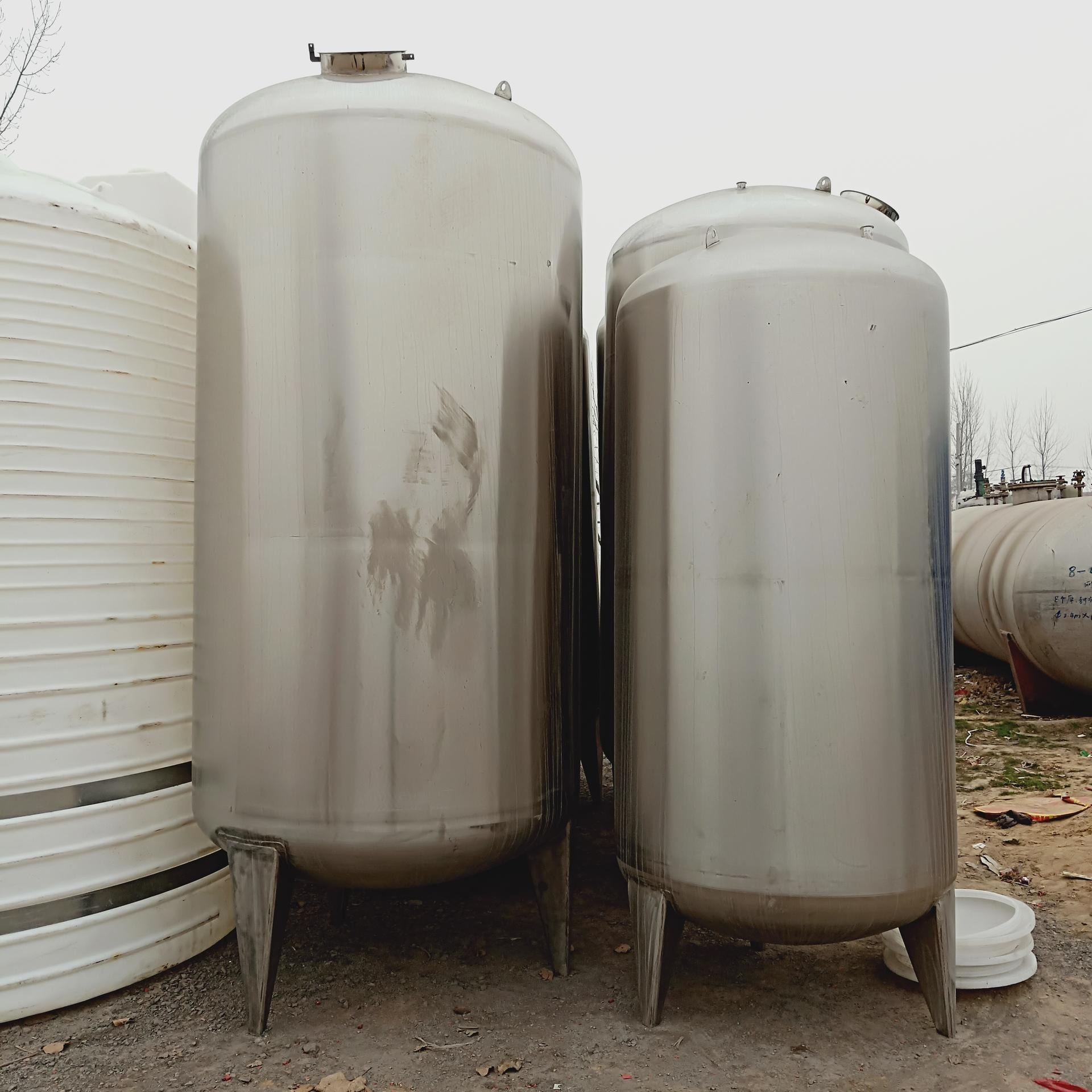 二手5立方不銹鋼攪拌罐  10立方立式不銹鋼儲罐價格