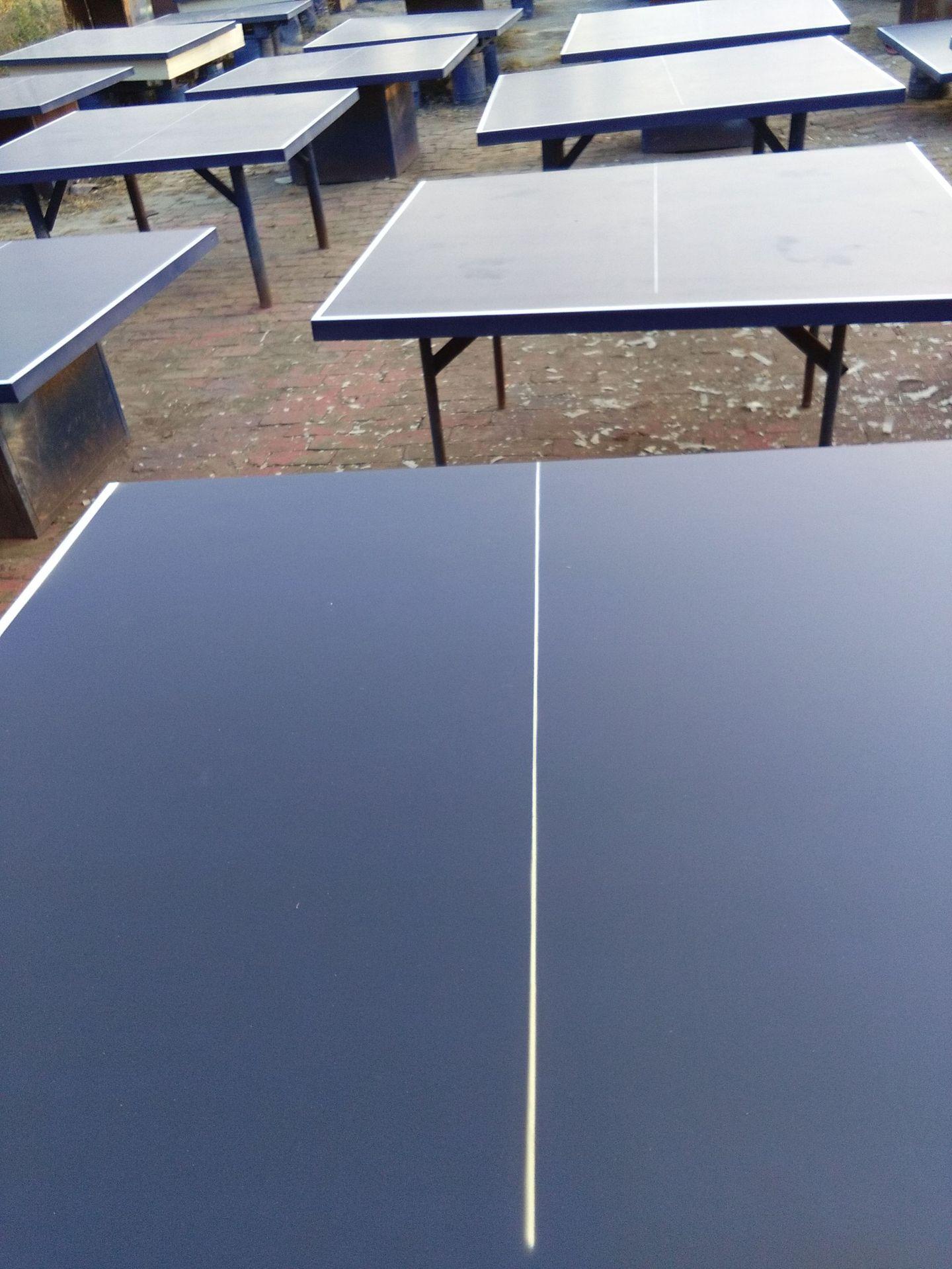 特价供应室内可移动乒乓球桌 家用标准乒乓球台 物美价廉售后无忧示例图30