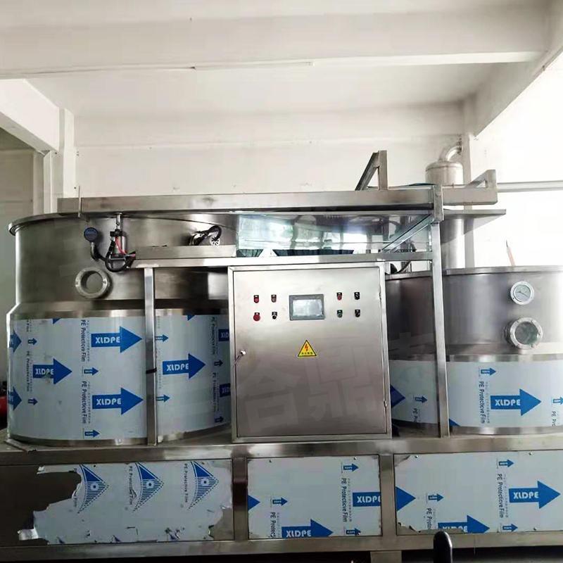 三合鼎泰DT800 雙室低溫油炸設備,臥式低溫真空油炸機廠家直銷,油炸產品果蔬脆片加工設備批發