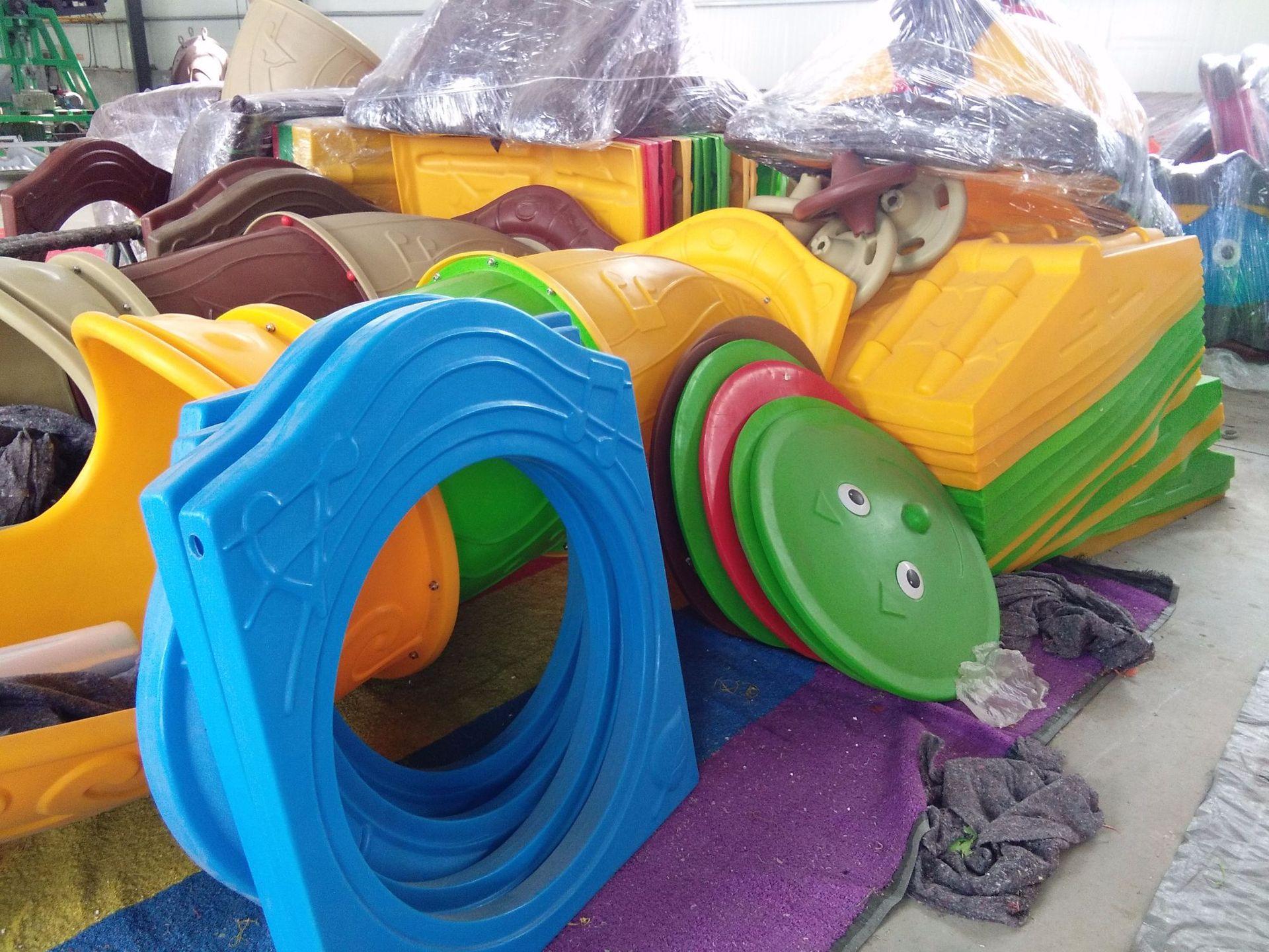 专业生产定制室外小区广场幼儿园滑梯 户外儿童乐园滑梯 物美价廉示例图21