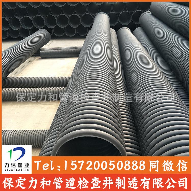 HDPE双壁波纹管 雨污水管网专用 承插口连接示例图9
