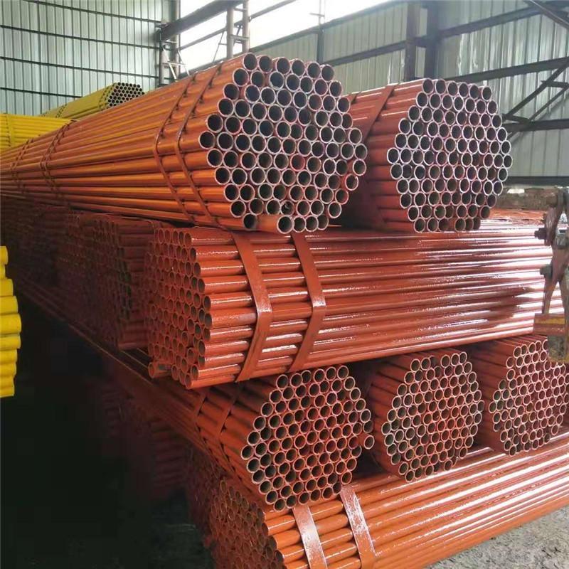 高频焊接脚手钢管现货 天江 Q195架子管批发 高频焊接脚手钢管