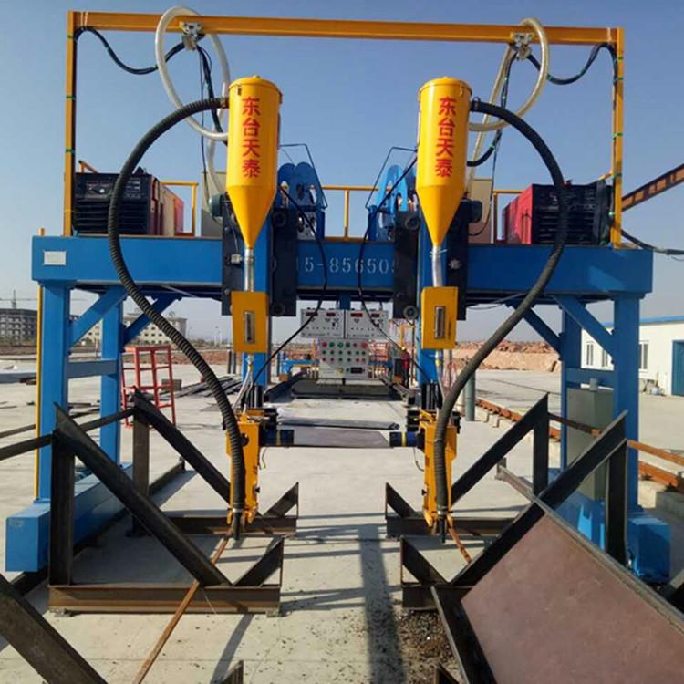 钢结构设备江苏厂家  非标定制 现货批发龙门式H型钢焊接机示例图6