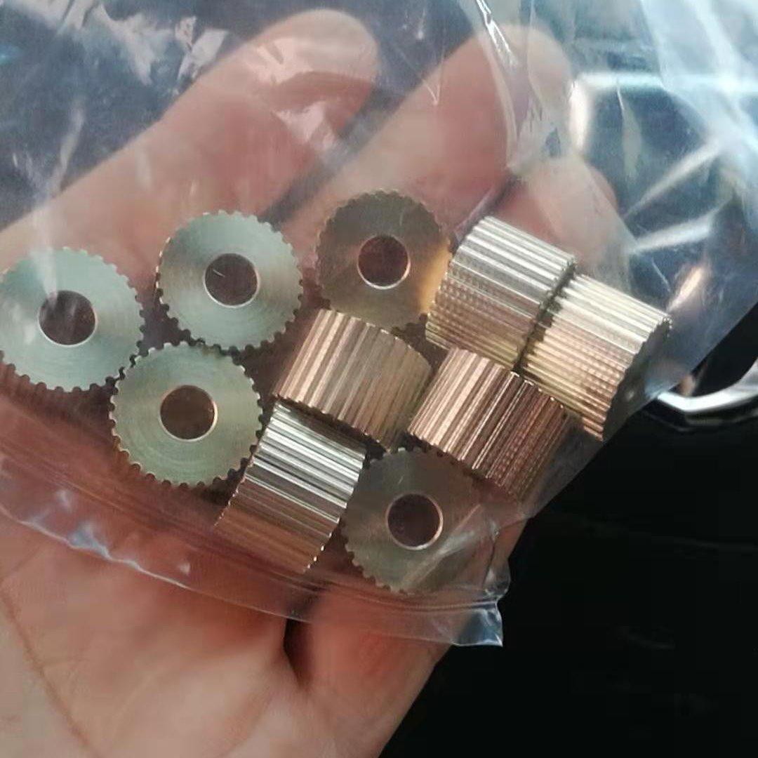 同步帶輪,鋁制同步帶輪,小模數同步帶齒輪,小電機用同步帶輪