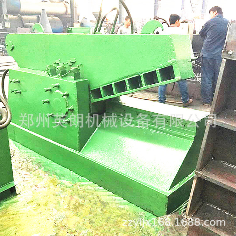 热销废旧金属鳄鱼剪切机 废铁液压鳄鱼剪 300吨钢板边角料剪断机示例图9