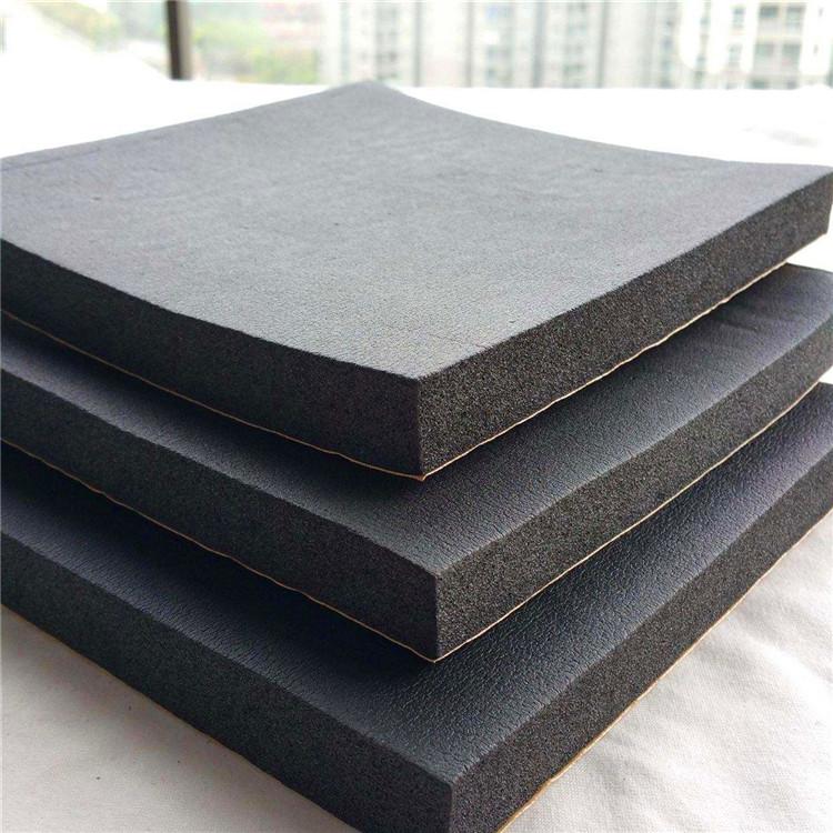 鼎诺 厂家直销 方格铝橡塑板 铝箔贴面橡塑保温板 B2级橡塑海绵板