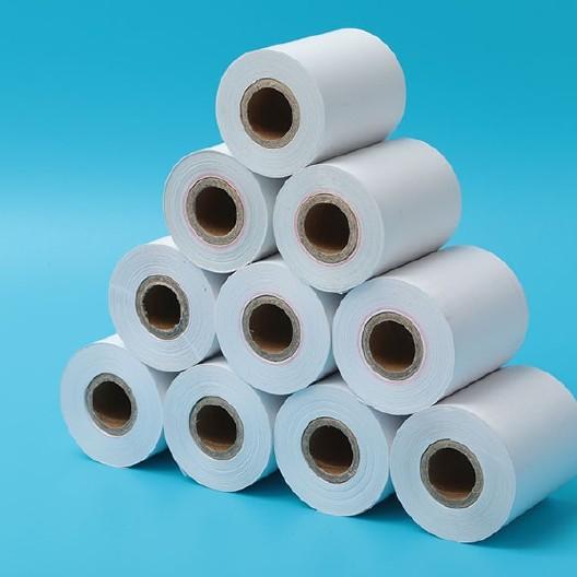 熱敏紙收銀紙57x50超市打印紙 存包柜紙收款紙圖片