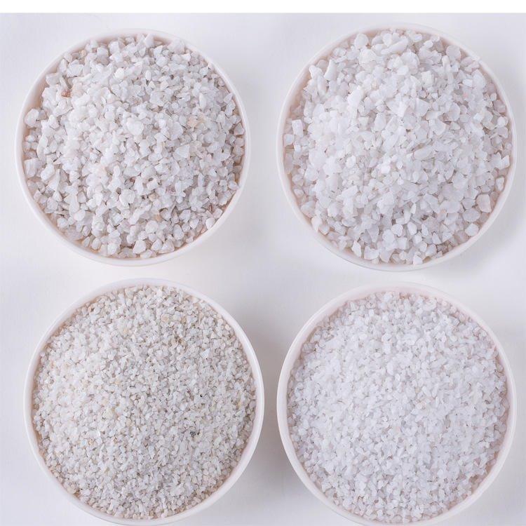 郏县2-4mm石英砂 纯白石英砂 过滤水用时候石英砂滤料 喷砂用石英砂磨料
