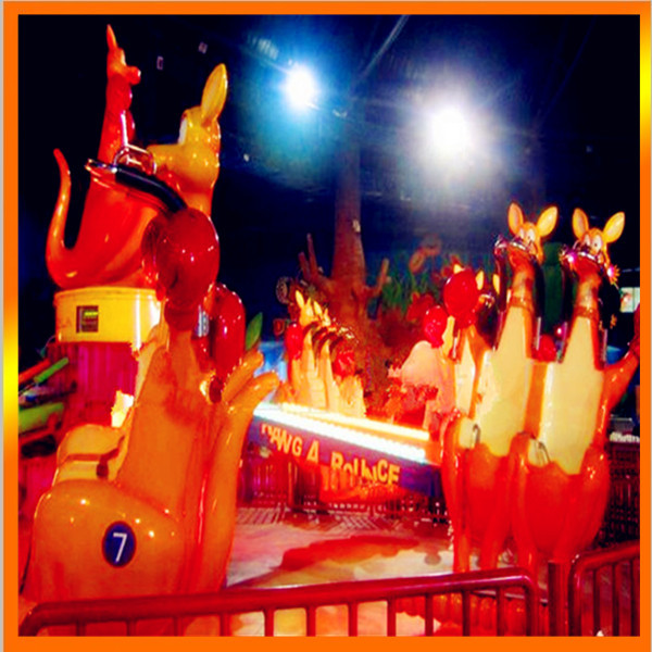 火爆销售8臂疯狂弹跳欢乐袋鼠 好玩刺激的儿童欢乐袋鼠袋鼠跳项目示例图2