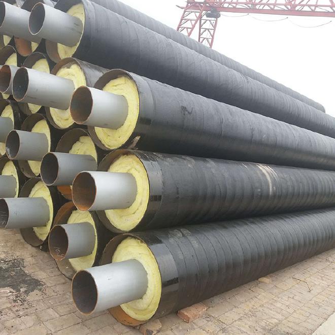 厂家直销 保温钢管 钢套钢保温钢管 定制 内保温外防腐钢管示例图8