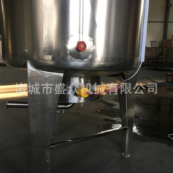 廠家熱銷液體發酵罐白酒啤酒葡萄酒果汁果酒發酵機 菌種發酵設備示例圖5