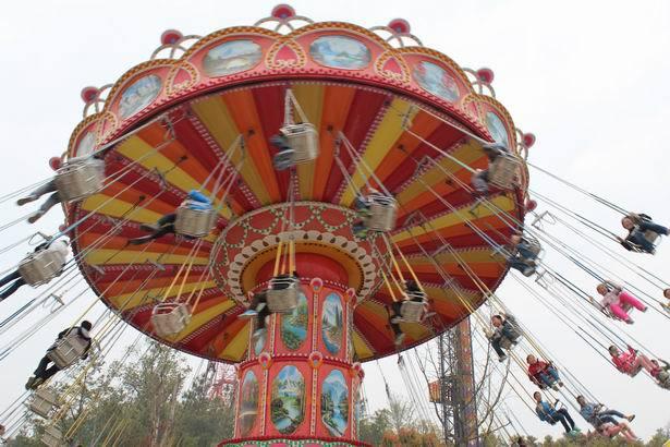 供应游乐场24座豪华飞椅 公园户外大型游乐项目飓风飞椅大洋直销示例图5