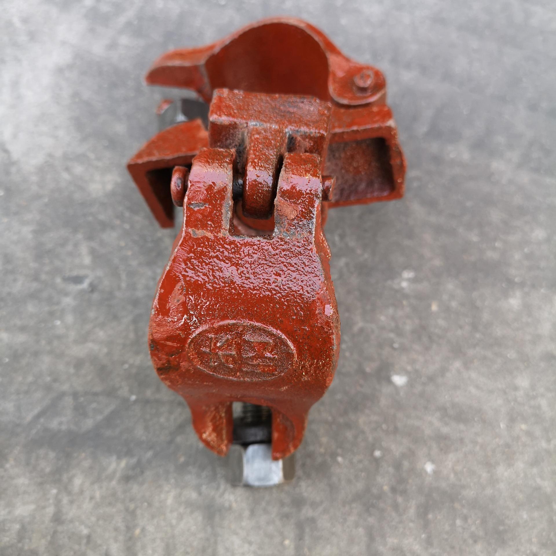 建筑钢管连接扣件 盐山长圣牌连接扣件 钢管扣件