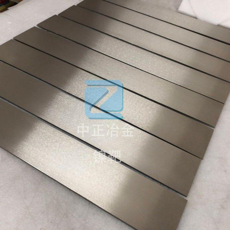 供應中正冶金生產高純鎳靶、鎳管、噴涂鎳管靶材、鎳顆粒純度可以達到99.99