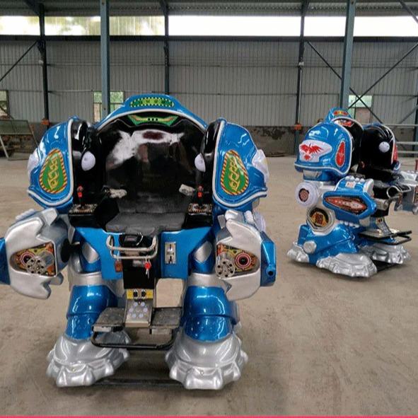 2020大洋游乐重磅推出儿童战火金刚机器人  广场火爆可乐侠机器人
