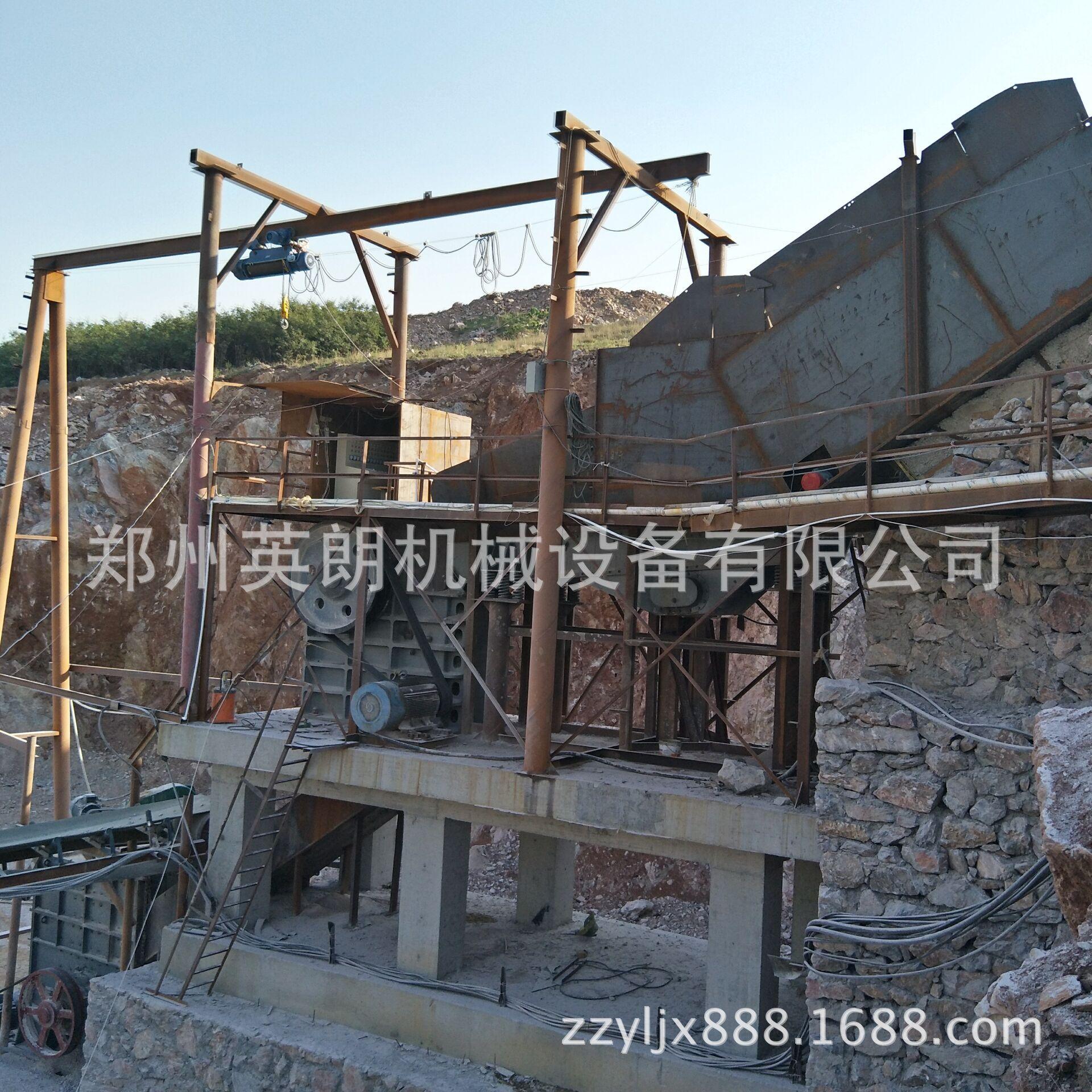 供应矿山石料开采破碎生产线 建筑青石子破碎线 鹅卵石制沙生产线示例图10