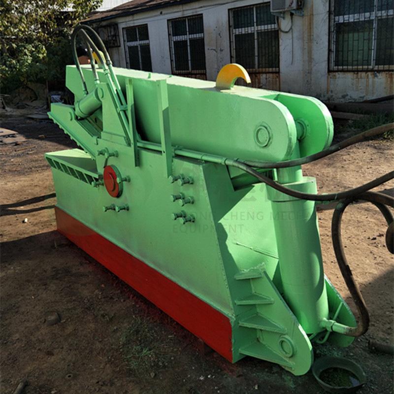 热销废旧金属鳄鱼剪切机 废铁液压鳄鱼剪 300吨钢板边角料剪断机示例图13