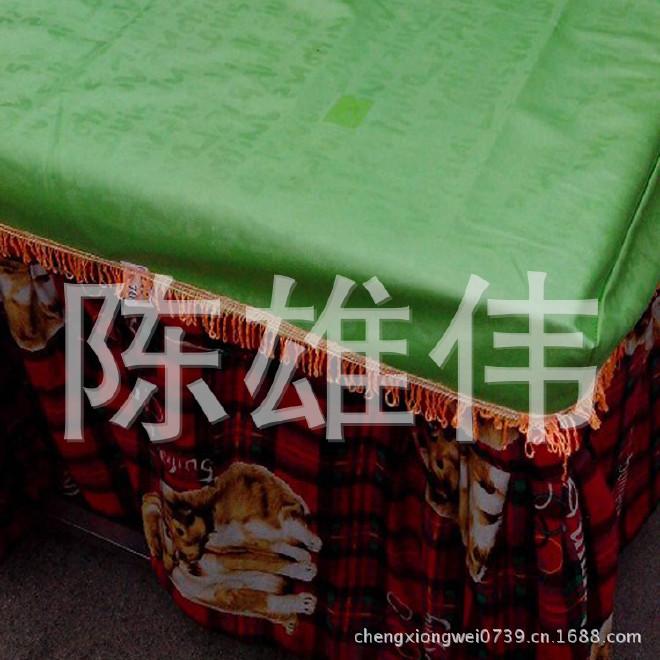 厂家生产 电取暖桌皮革桌罩 电烤桌套 正方形考火桌套示例图7