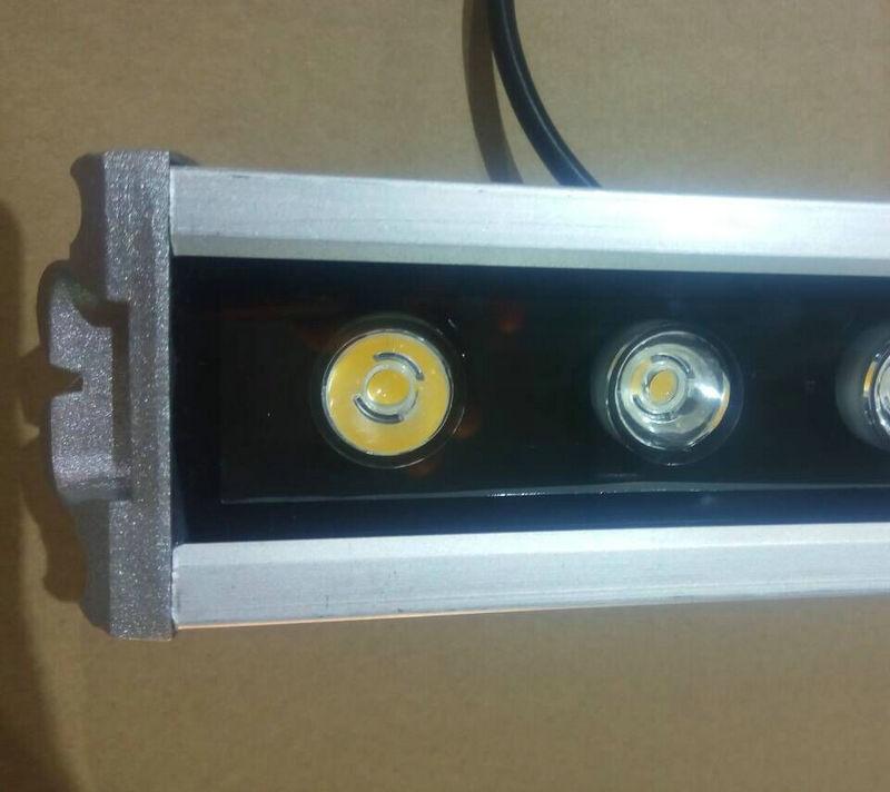 led大功率洗墙灯 七彩洗墙灯 高亮足瓦LED洗墙灯 18w防水洗墙灯示例图8
