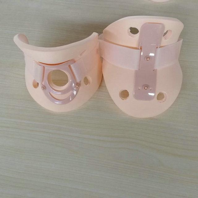 廠家批發 頸托高分子高檔分體頸托 醫療康復頸椎家用護頸 護具