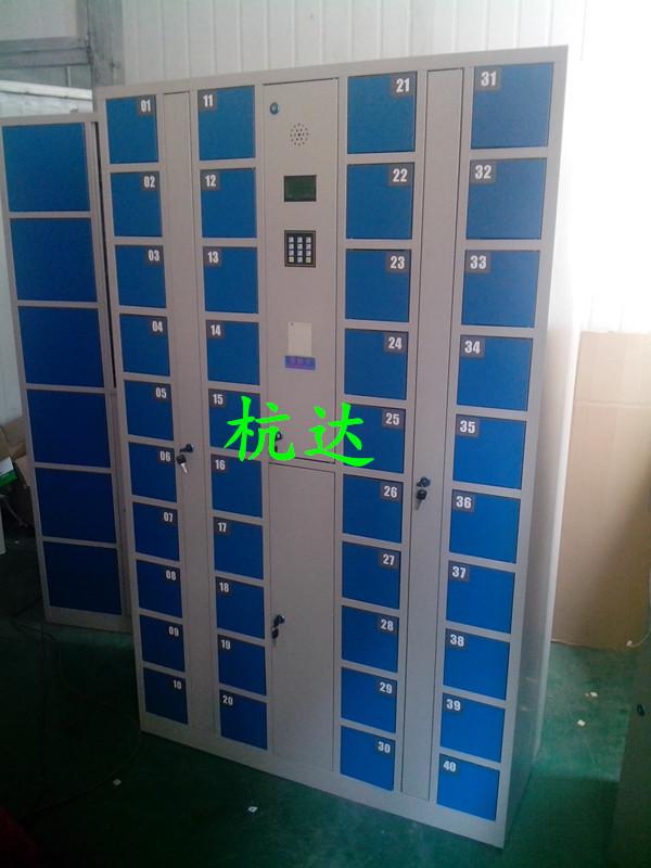 厂家供应杭达指纹手机柜指纹存包柜 电子寄存储物柜1800*1300*280示例图9