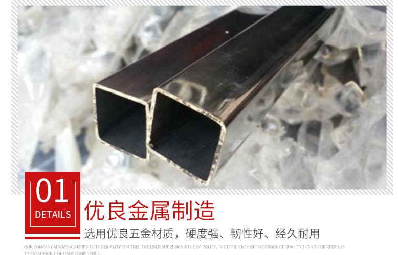不锈钢无缝方管316无缝厚壁 10*10钢管不锈钢焊接方管加工定制示例图3