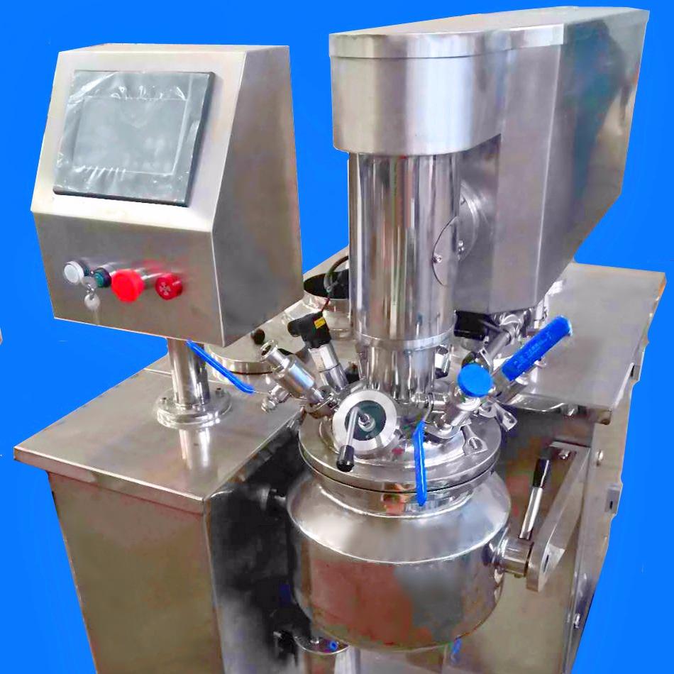 供應無錫英那威特RH-10真空乳化機,適用于實驗室研發、乳液膏霜生產專用設備、化妝品設備、廠家直銷乳化機、真空均質高剪切