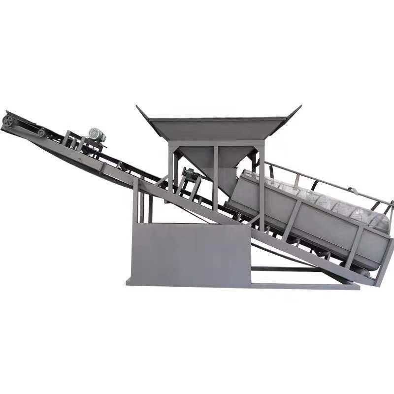 中言機械 沙廠專用移動式篩沙機  50型滾筒篩沙機 80型震動篩沙機 砂石分離機