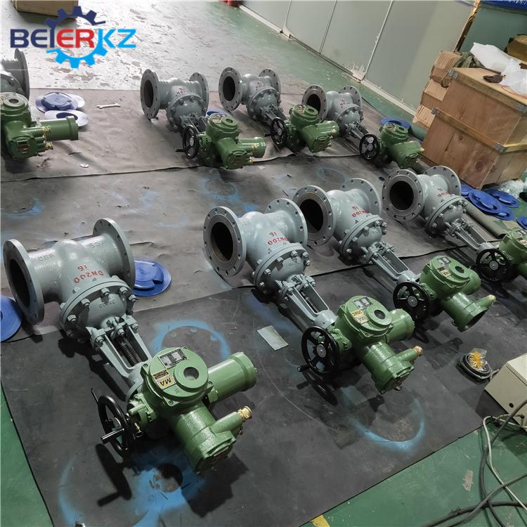 贝尔 矿用隔爆电动装置整体开关ZBK10 ZBK20 ZBK30示例图6