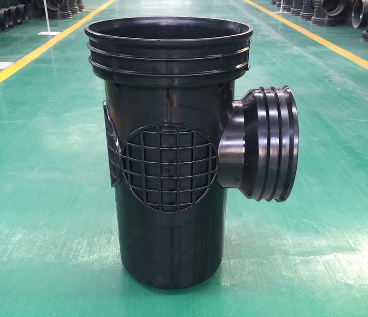 450*300沉泥90°弯头井 塑料检查井 雨水塑料检查井批发示例图12