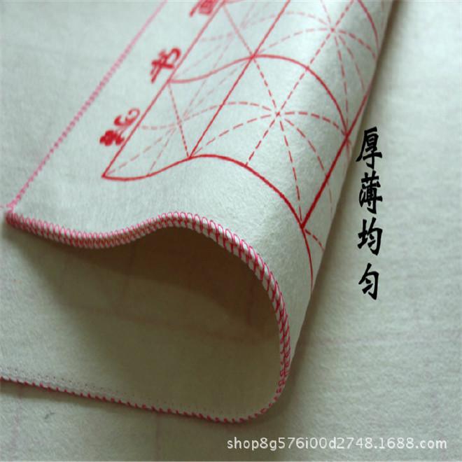 书画毛毡毛毡 书画毡 书法毛毡 墙毡 书法用毛毡1米2米3米宽示例图5