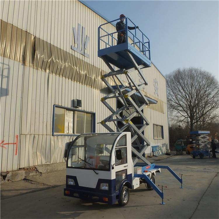 厂家直销 车载升降平台车载电动平台 升降货梯 车载剪叉式升降机示例图12