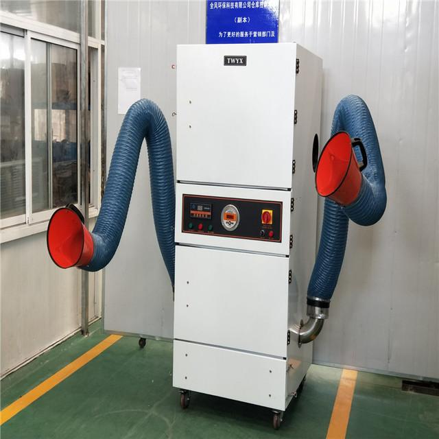 5.5KW全自動脈沖集塵機 大量精細粉塵除塵器 拋光打磨粉塵集塵器