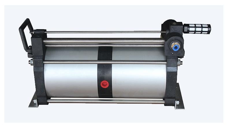 现货供应气体增压泵增压快 工业小型压缩空气气动增压泵 质优价廉示例图12