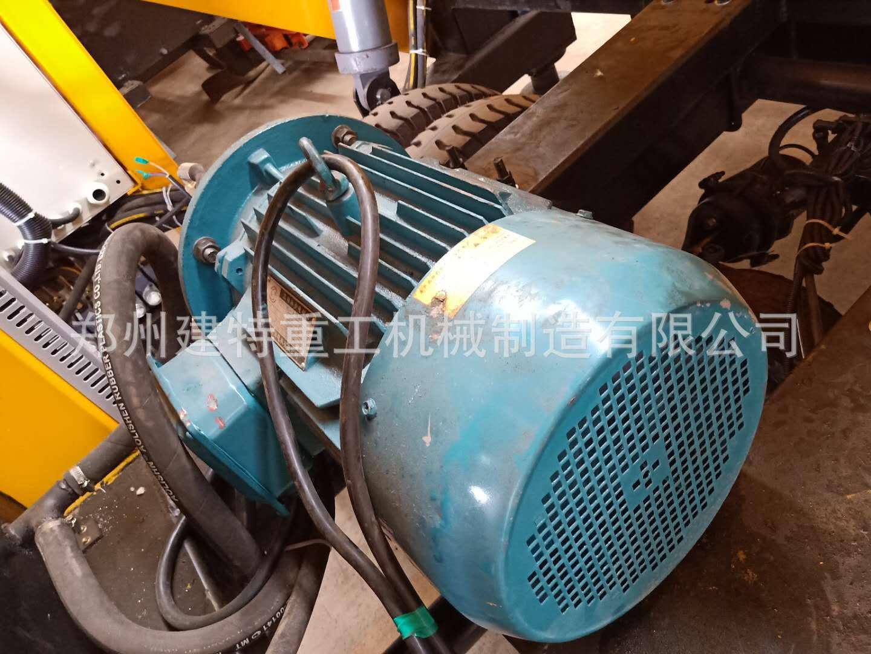 天水厂家直销一拖二混凝土喷浆车 自动上料喷浆车 喷浆设备示例图12