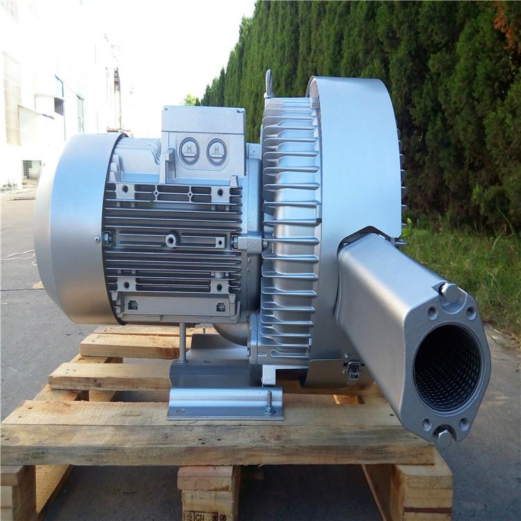低噪音高壓風機 污水曝氣專用雙葉輪高壓風機 大風量高壓鼓風機示例圖2