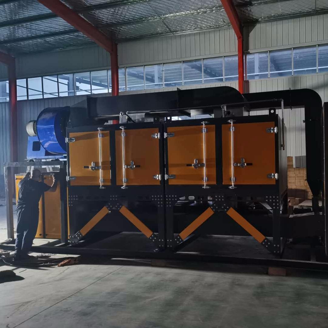 催化燃燒 催化燃燒設備 廢氣處理成套設備 星碩供應