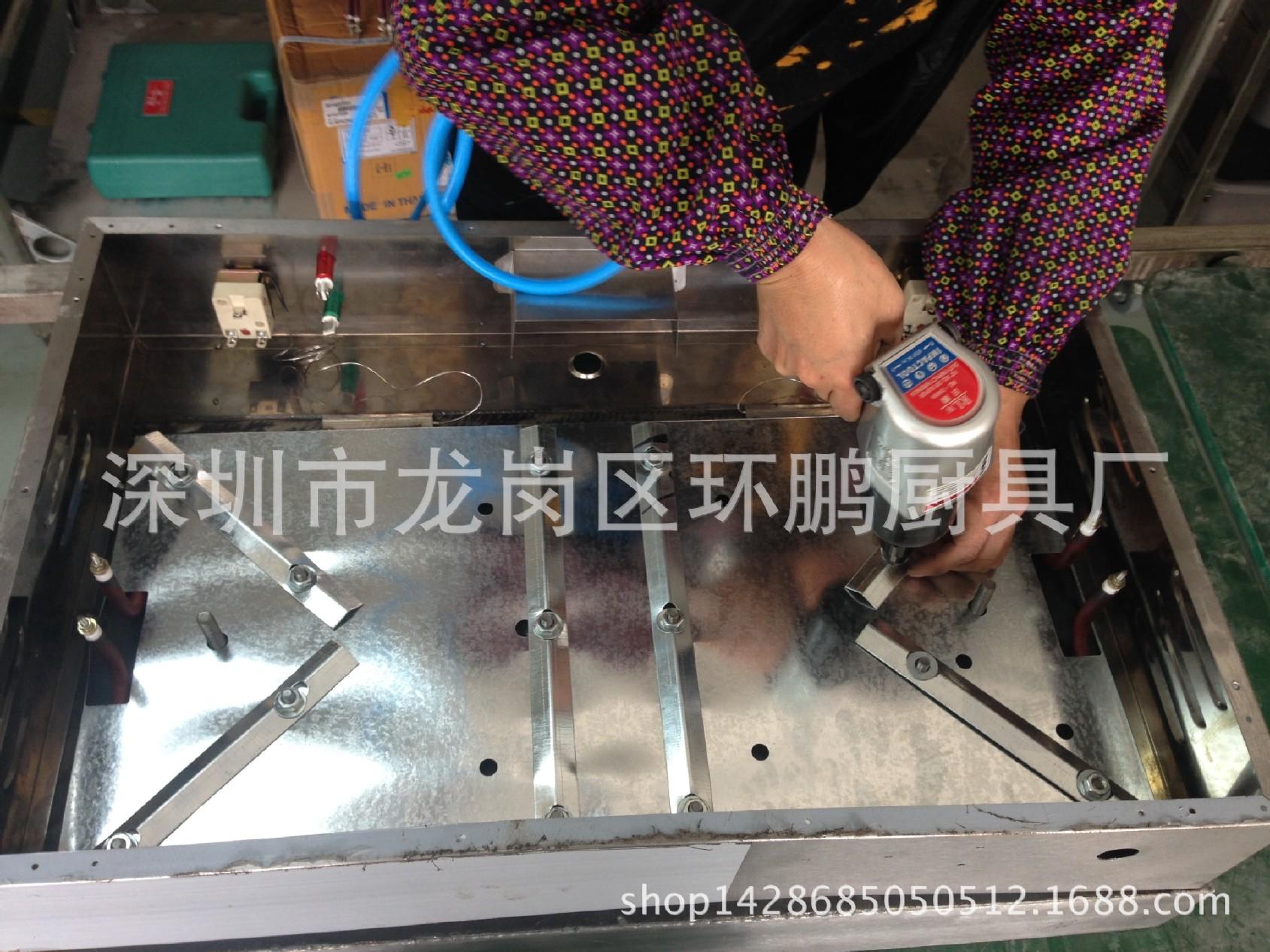 厂家直销不锈钢820电平扒炉煎饼炉加厚扒板双 4.2kw 炊事设备示例图58