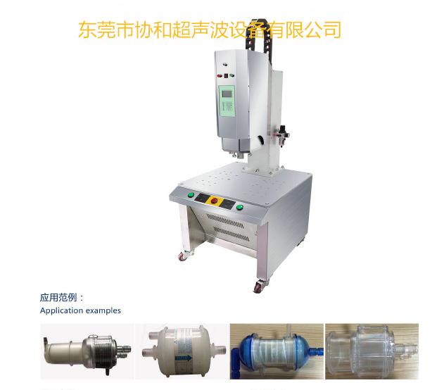 自动转盘焊接机 人性化设计PL介面总控带机械手 超声波焊接机示例图3