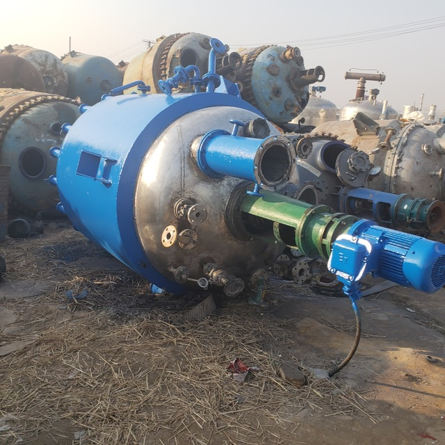 現貨熱銷反應釜 2000L搪瓷反應釜 高壓反應釜 氫化釜 反應機械