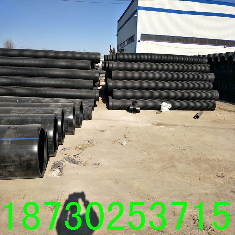 厂家直销PE穿线管耐磨PE电力管黑色阻燃电缆专用穿线管示例图9