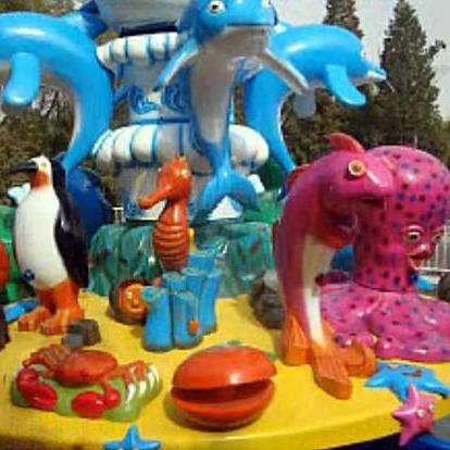 大洋6臂8臂大型户外游乐激战鲨鱼岛 儿童喜爱旋转游乐设备 激战鲨鱼岛