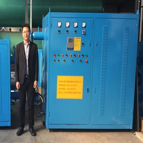 電磁供暖鍋爐 魯貫通 0.5噸加熱功率電磁采暖爐升溫速度快