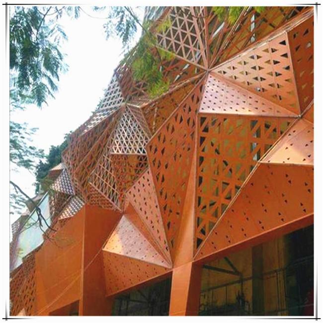 鋁單板捕捉時尚,建筑幕墻裝飾潮流