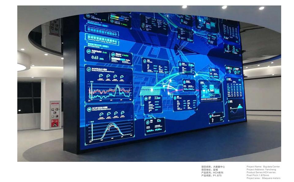 小间距广告屏 专业LED大屏解决方案示例图3