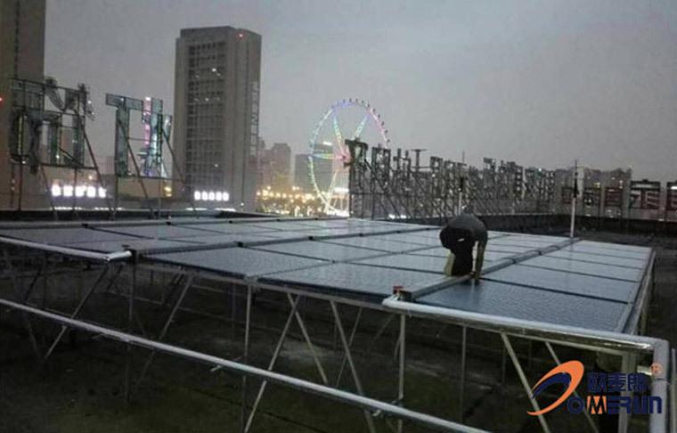 2宾馆太阳能热水器 大型热水工程机 太阳能热水工程厂家示例图2