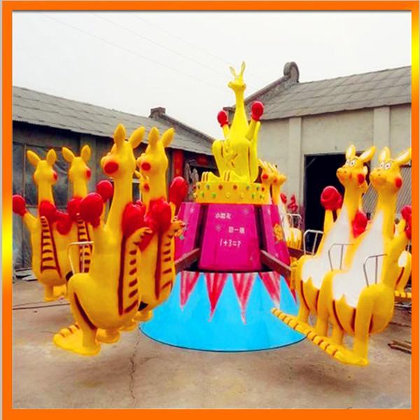 火爆销售8臂疯狂弹跳欢乐袋鼠 好玩刺激的儿童欢乐袋鼠袋鼠跳项目示例图5