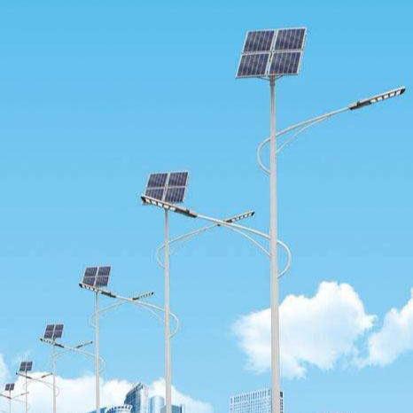 小區景觀太陽能高桿路燈桿 led高亮太陽能路燈 質保3年高亮分體式太陽能燈生產 浩騰HTTYN-196