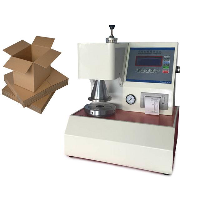 水印纸箱爆破强度试验机/厚度仪包装纸箱纸板爆破强度试验机